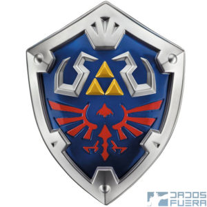 Escudo Hyliano The Legend of Zelda Disguise Dados Fuera