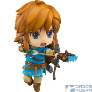 The Legend of Zelda Breath of the Wild Nendoroid Dados Fuera