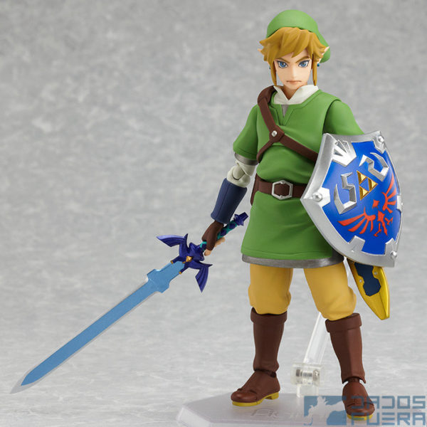 The Legend of Zelda Skyward Sword figma Dados Fuera