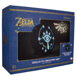 The Legend of Zelda Breath of the Wild Lámpara Sheikah Eye Dados Fuera