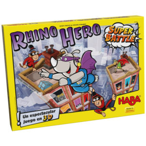 Rhino Hero Super Battle Haba Dados Fuera
