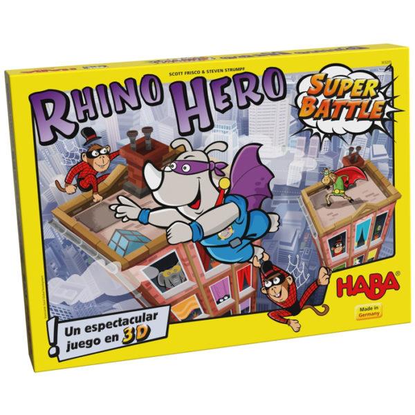 Rhino Hero Super Battle Haba Dados Fuera